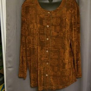 Coldwater Creek blouse size 16
